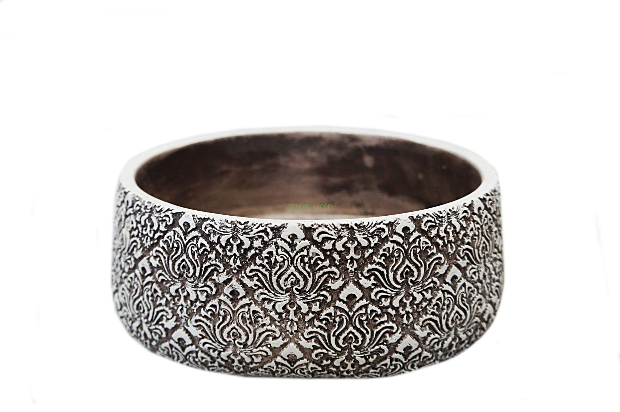 Doniczka Osłonka Glina Ceramiczna Bonsai Misa 24cm Polnix 4601424